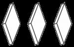 Тупфер «Фармасорб» (ромбовидный)