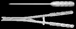 Набор инструментов для установки кейджа межтелового «Ахиллес»