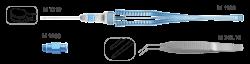 Комплект инструментов для имплантации факичной ИОЛ «Staar»