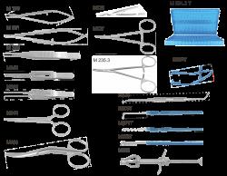 М 1014 - Набор для эвисцероэнуклеации