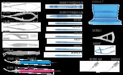 М 1016 - Набор универсальный для экстракции катаракты методом факоэмульсификации (2,0 - 3,2 мм)