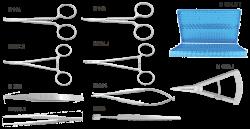 М 1017 - Набор для блефаропластики
